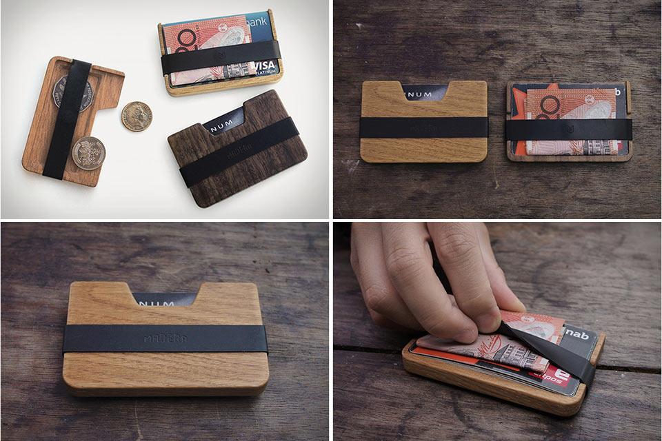 минималистичный кошелек