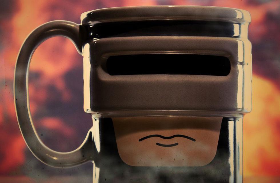 Чашка Robocup для фанатов чая и робокопа