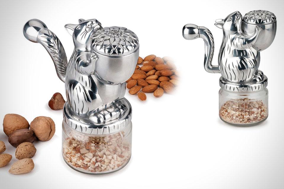 Гриндер для орехов RSVP Hazel Nut Grinder в форме белки