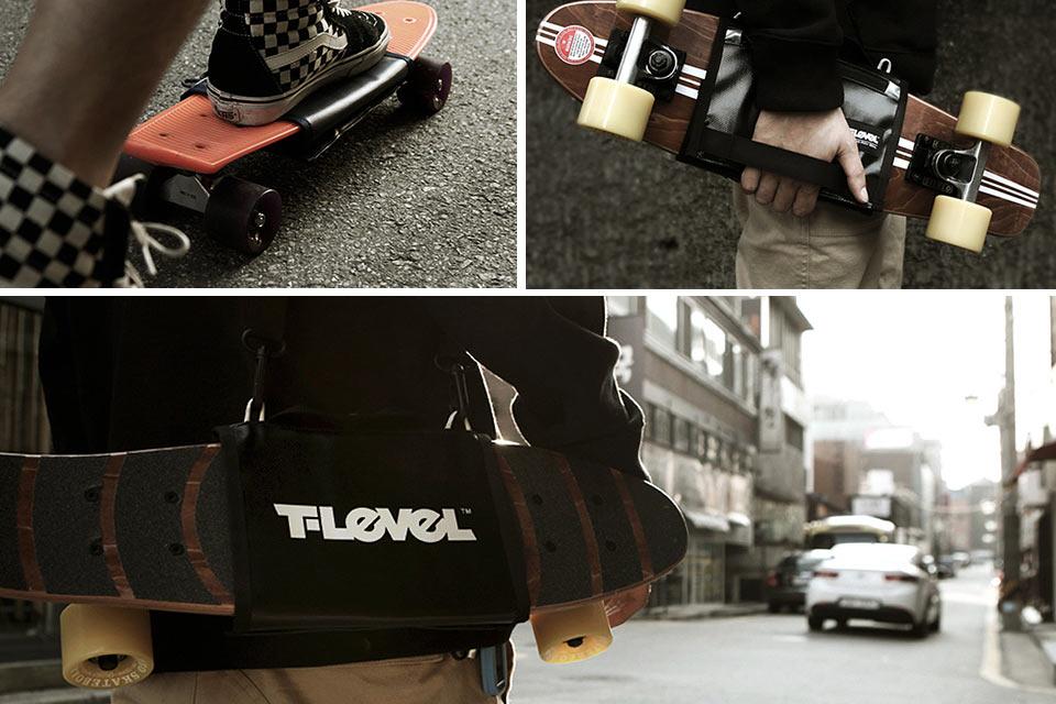Чехол для переноски скейта T-Level Slim Cruiser Carrier