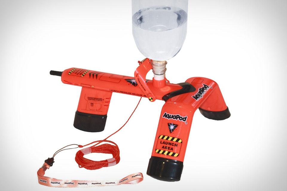 Стартовая установка Aquapod для запуска PET-бутылок в воздух
