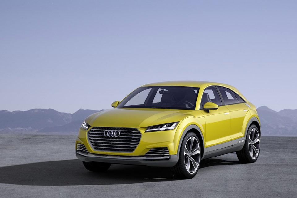 Кроссовер Audi TT Offroad со сверхэкономичным двигателем