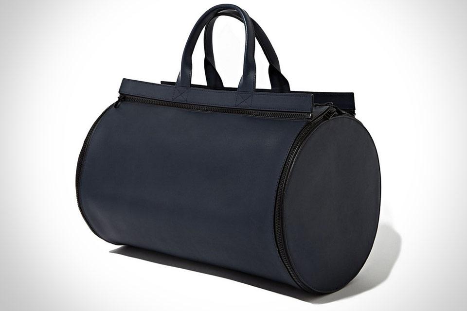 Разборная кожаная сумка BAMIN Interchangeable Panel Leather Duffel