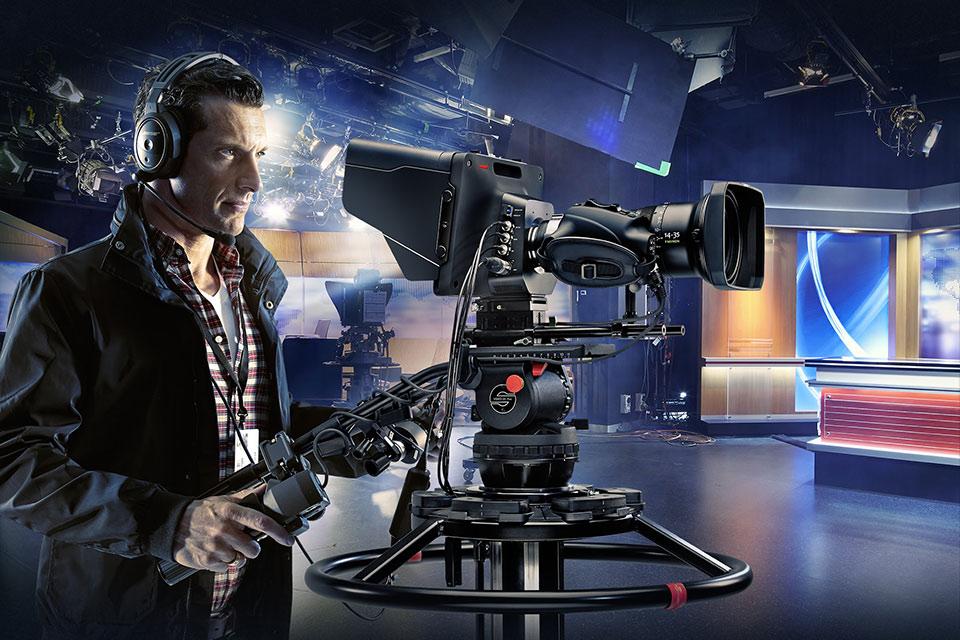 Студийная камера Blackmagic Studio Camera