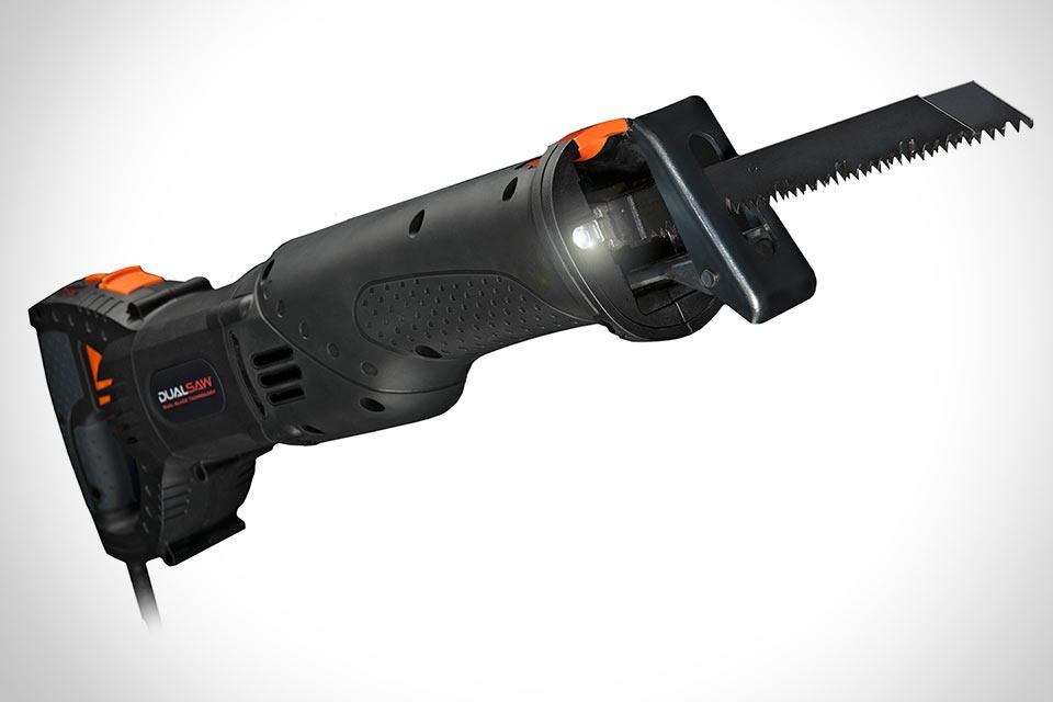 Первая в мире сабельная пила DualSaw RS1200 с двумя лезвиями