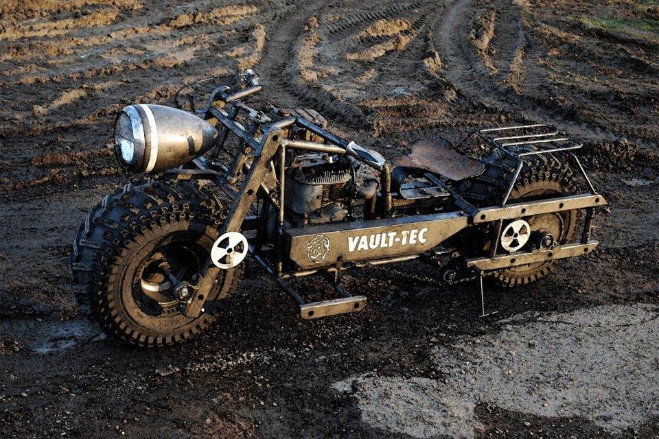 Постапокалиптический мотоцикл Fallout 3 Bike