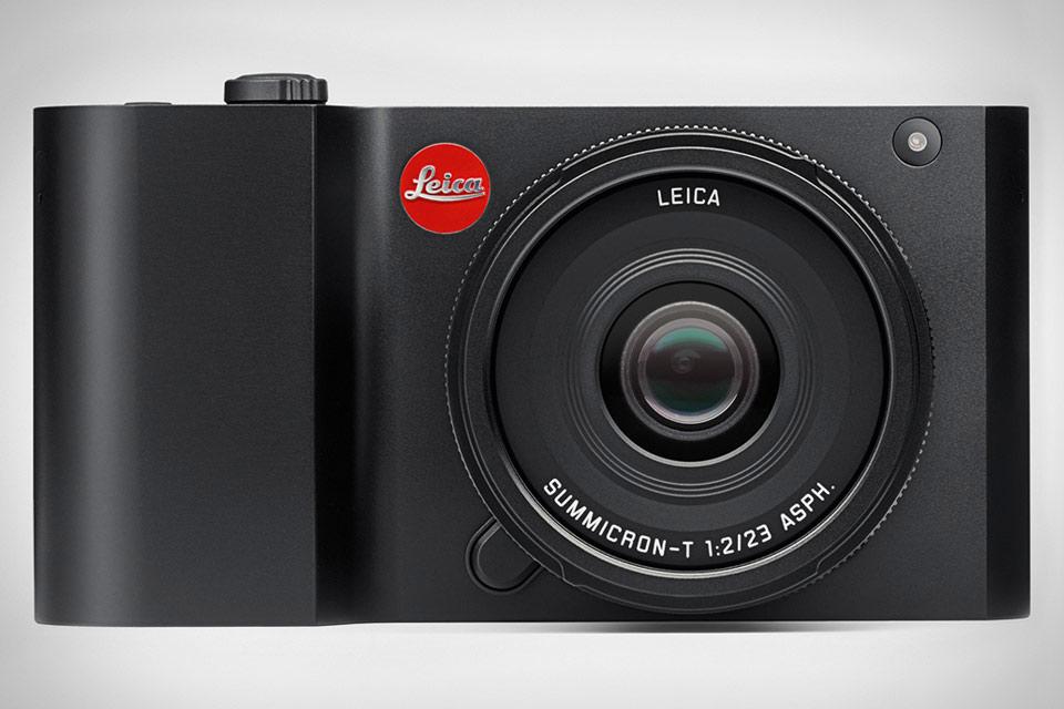 Компактная камера Leica T из цельного блока алюминия
