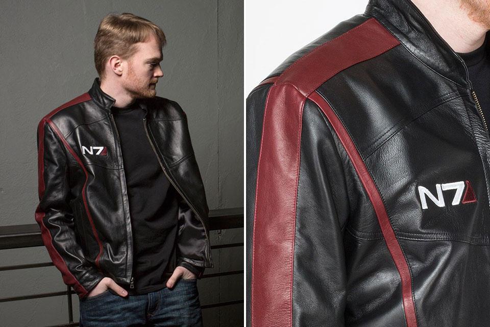 Кожаная куртка Mass Effect N7 командора Шепарда