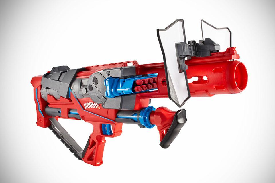 Игрушечное оружие Mattel BOOMco Blaster с липучими снарядами
