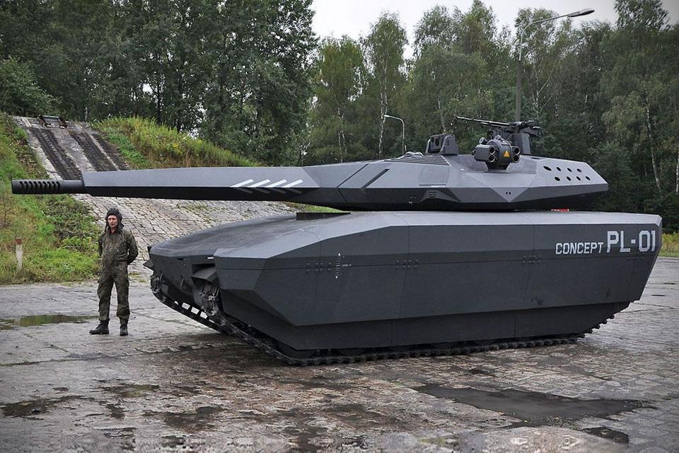 Танк ближайшего будущего Obrum PL-01