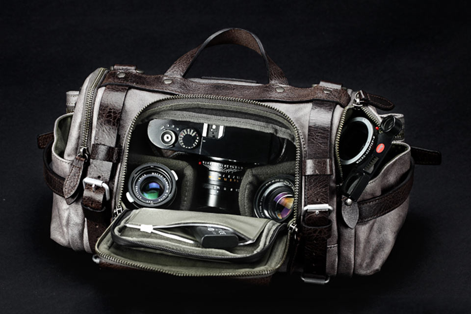 Винтажная сумка Paratrooper Camera Bag для фотокамеры