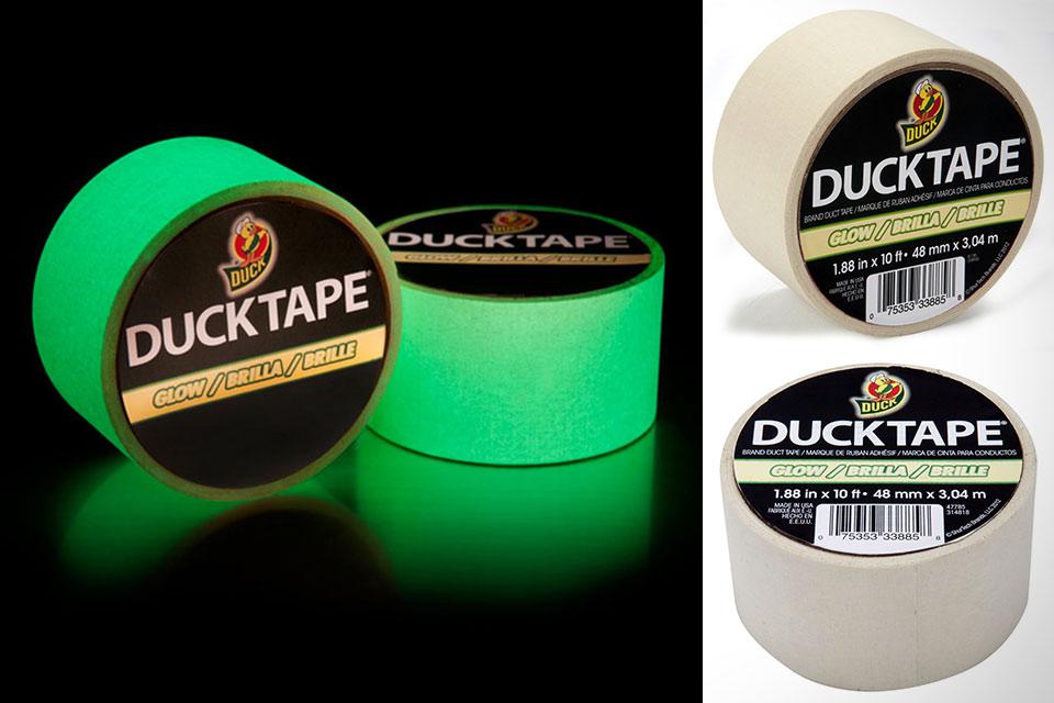 Светящийся в темноте скотч Shurtech Glow Tape