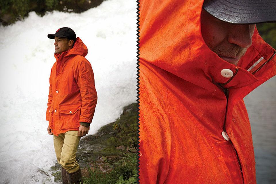 Куртка Waxed Anorak для любых дождевых условий