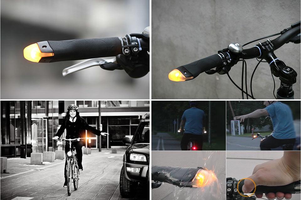 Велоручки BlinkerGrips со встроенными поворотниками