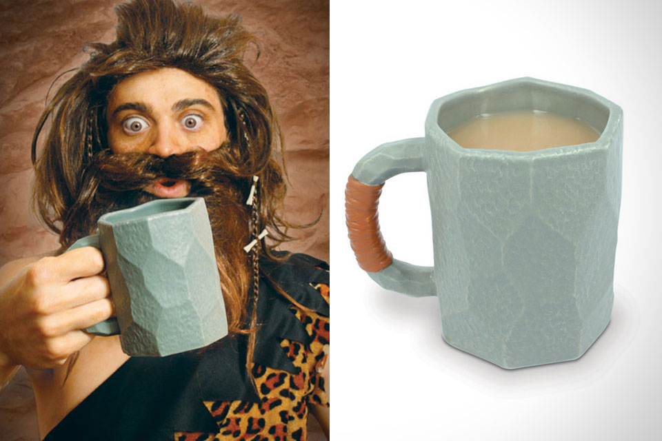 Кружка каменного человека Caveman Mug