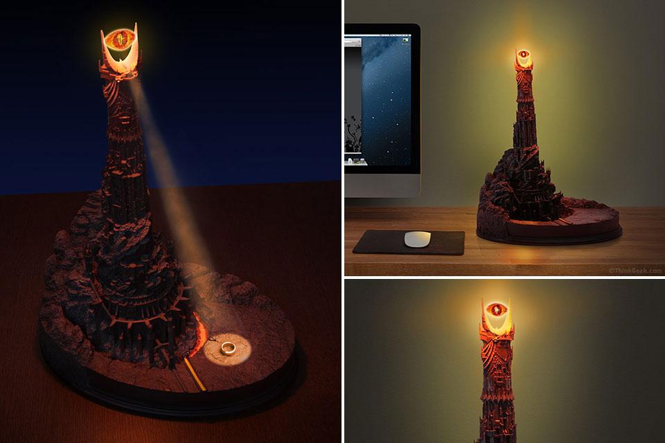 Настольная лампа «Глаз Саурона»