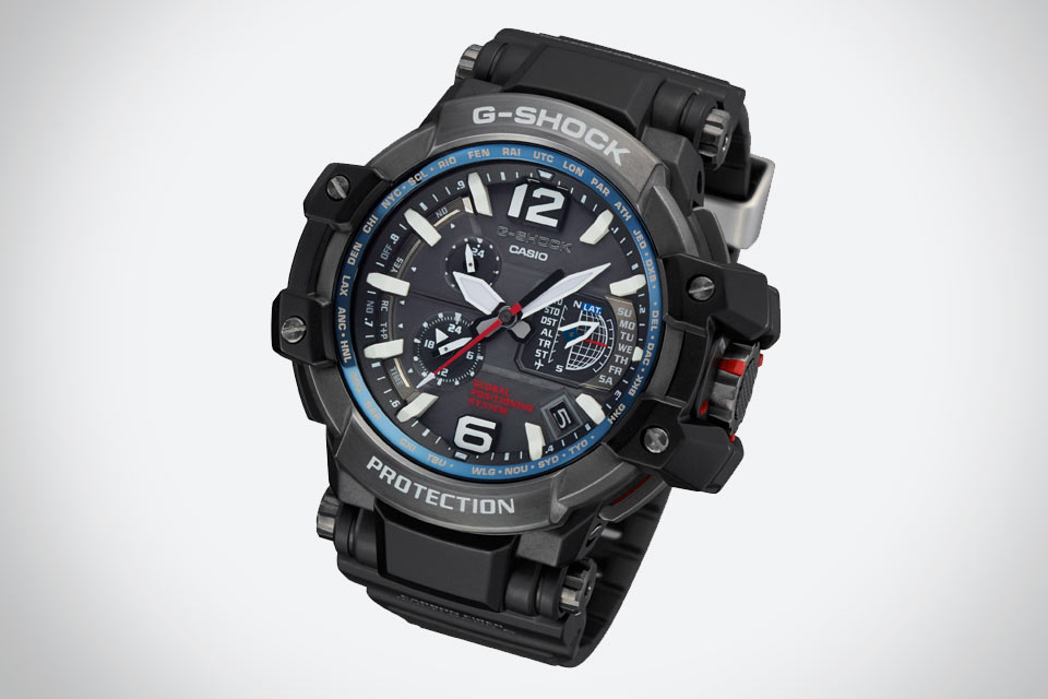 G-SHOCK GPW-1000 с синхронизацией времени по GPS