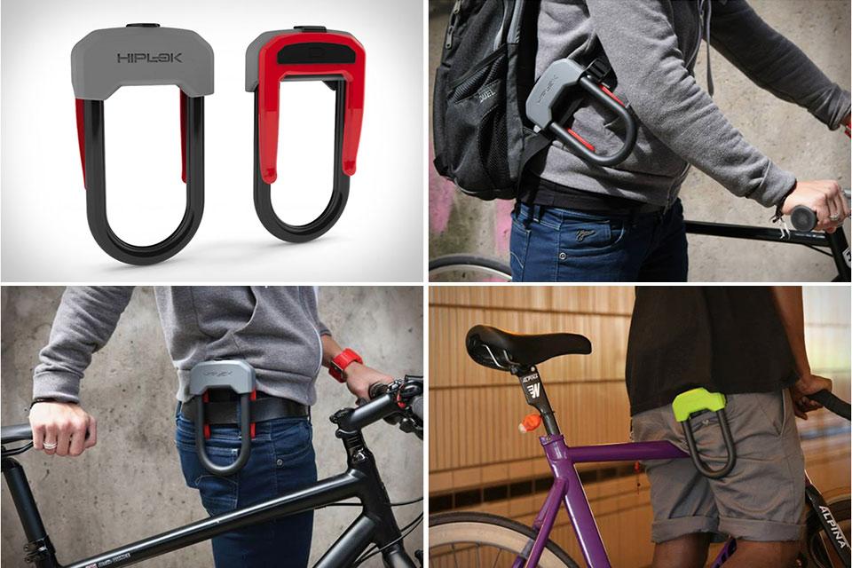 Велозамок  Hiplok D с удобным зацепом