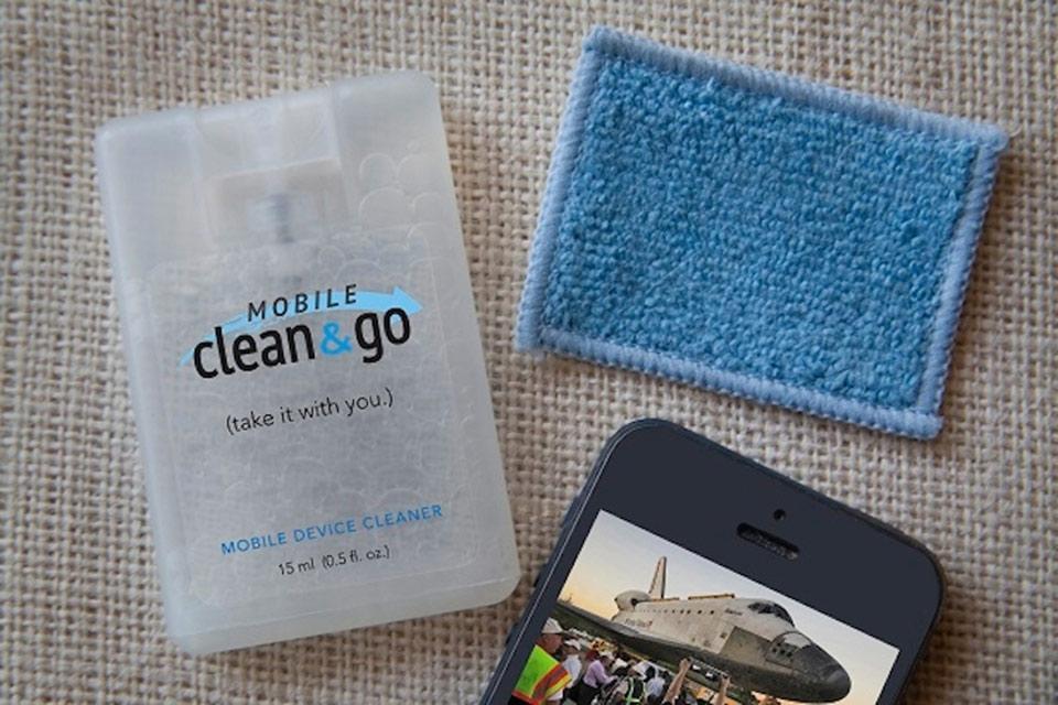 Миниатюрный спрей Mobile Clean & Go Mega Value Pack для очистки дисплея гаджетов