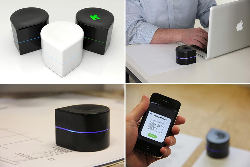 Мобильный робопринтер Mini Mobile Robotic Printer