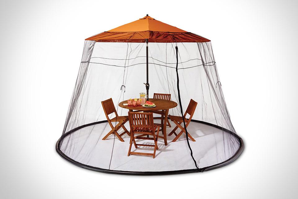 Противомоскитный тент Patio Table Mosquito Canopy для уличных застолий