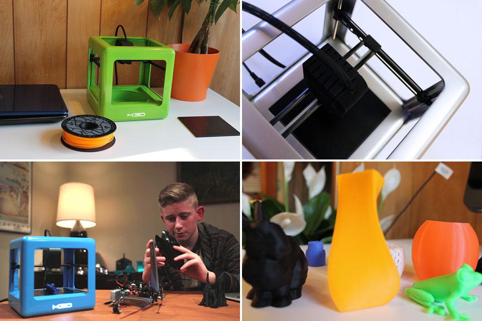 Первый действительно дешевый потребительский 3D-принтер The Micro