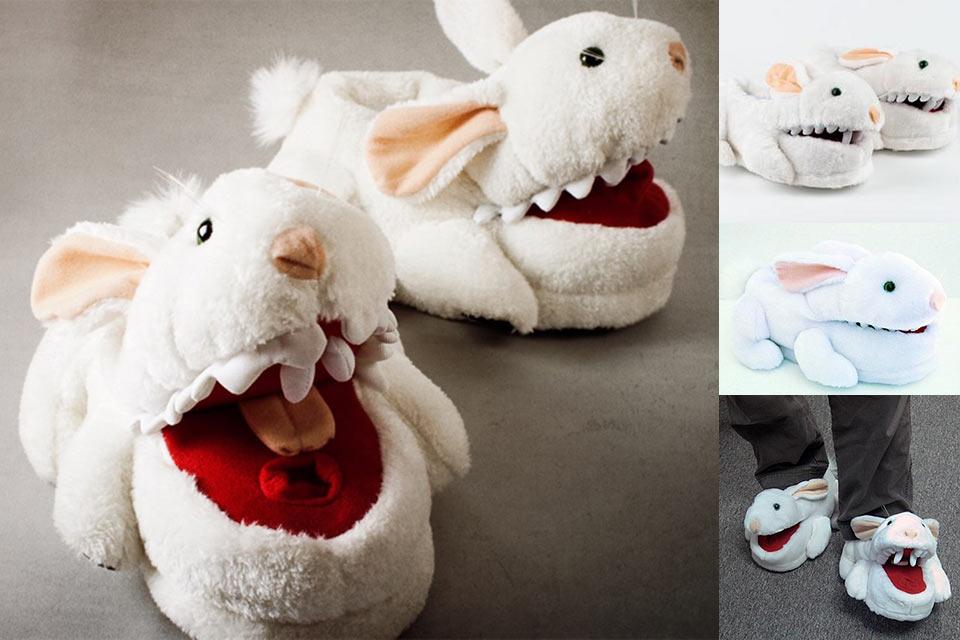 Домашние тапочки Toy Vault Killer Rabbit для любителей творчества Монти Пайтона