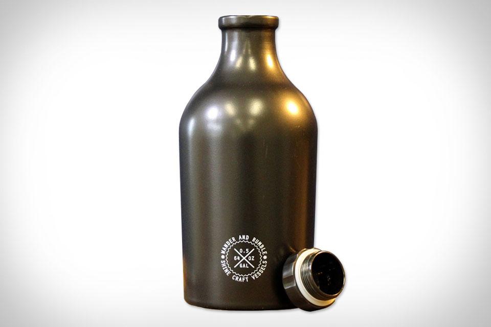 Стальной сосуд Shine Craft Vessel для пива и других напитков