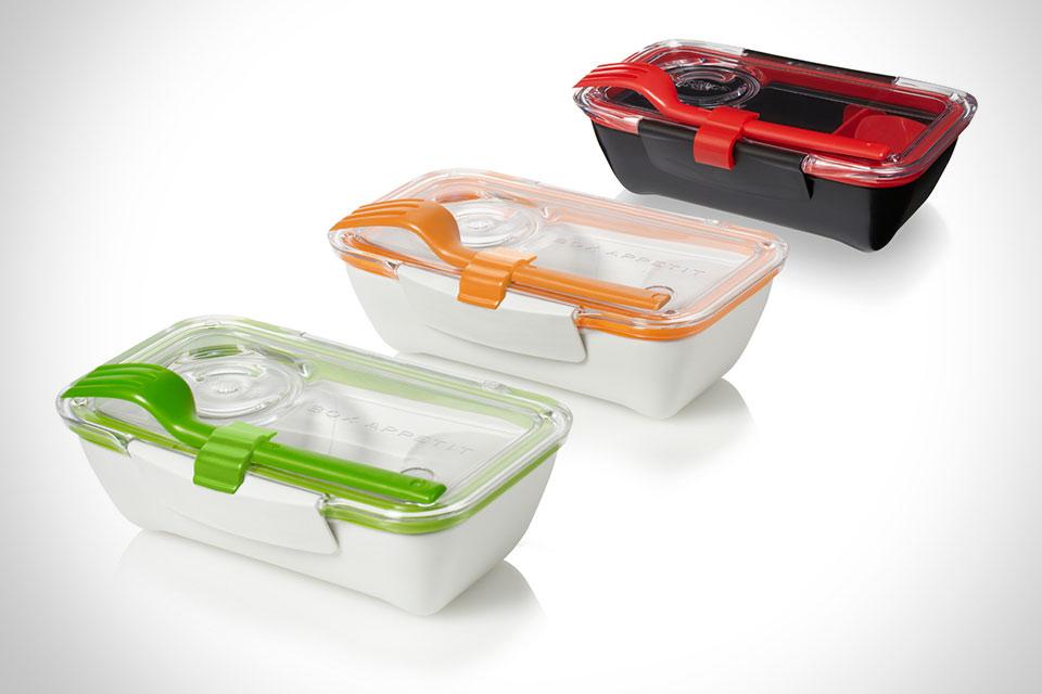 Удобный контейнер для еды black+blum Bento Box в японском стиле