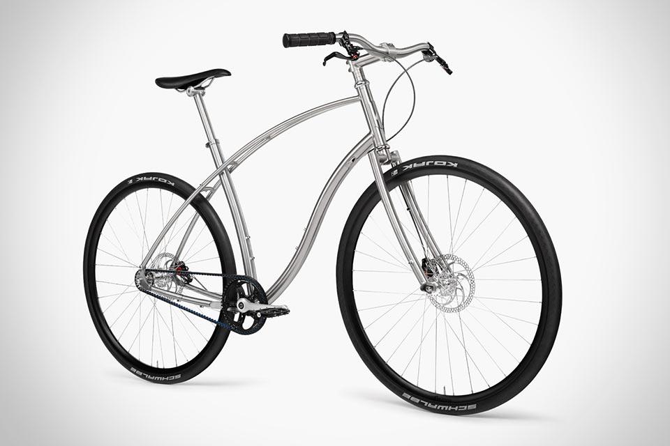 Титановый велосипед Budnitz Bicycles NО. 1