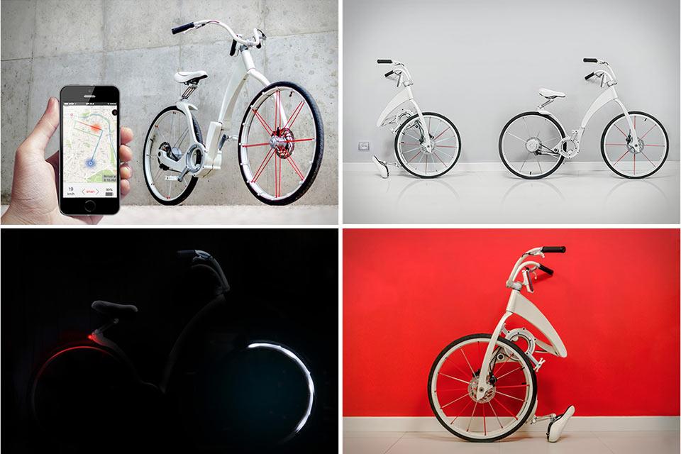 Складной электровелосипед Gi Bike