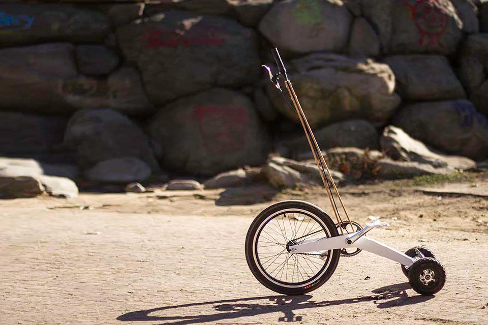 Полвелосипеда Halfbike