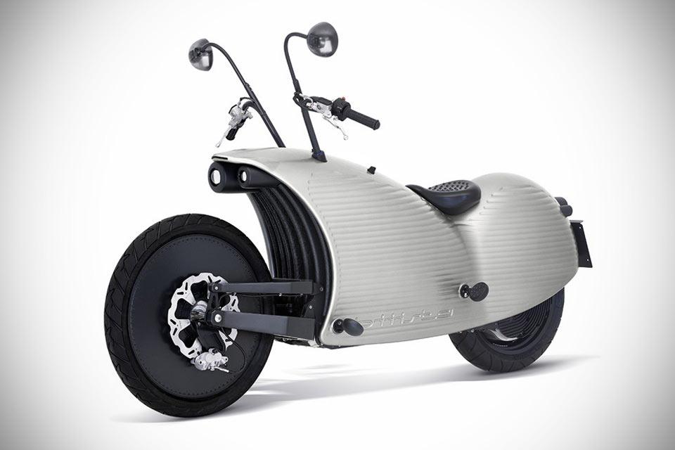 Футуристический электромотоцикл Johammer J1