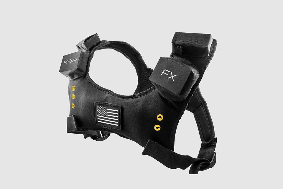 Игровой жилет KOR-FX с обратной силовой отдачей