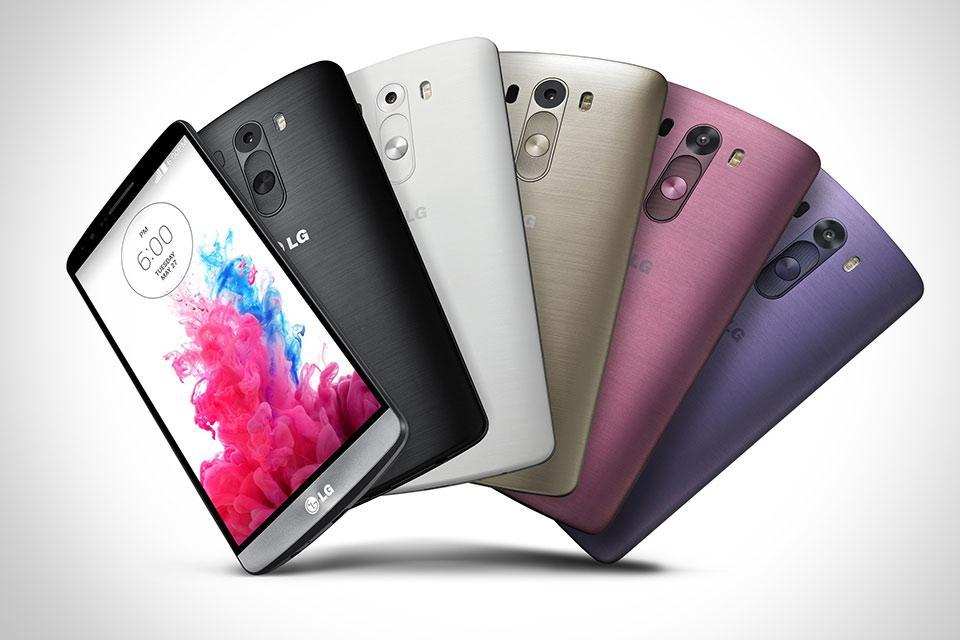 5,5-дюймовый лопатофон LG G3 с минимальными рамками вокруг QuadHD-дисплея