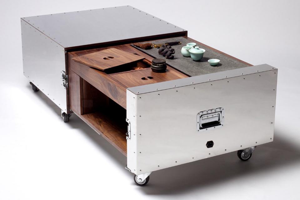 Мебель от Naihan Li в ящиках