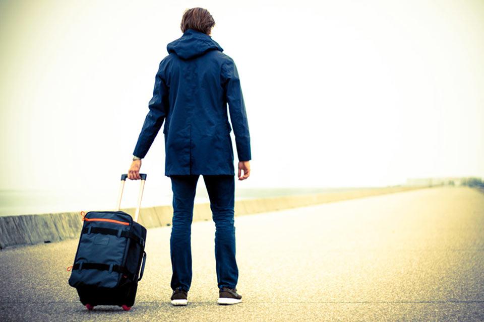 Продуманная сумка на колесиках Travelteq для путешествий