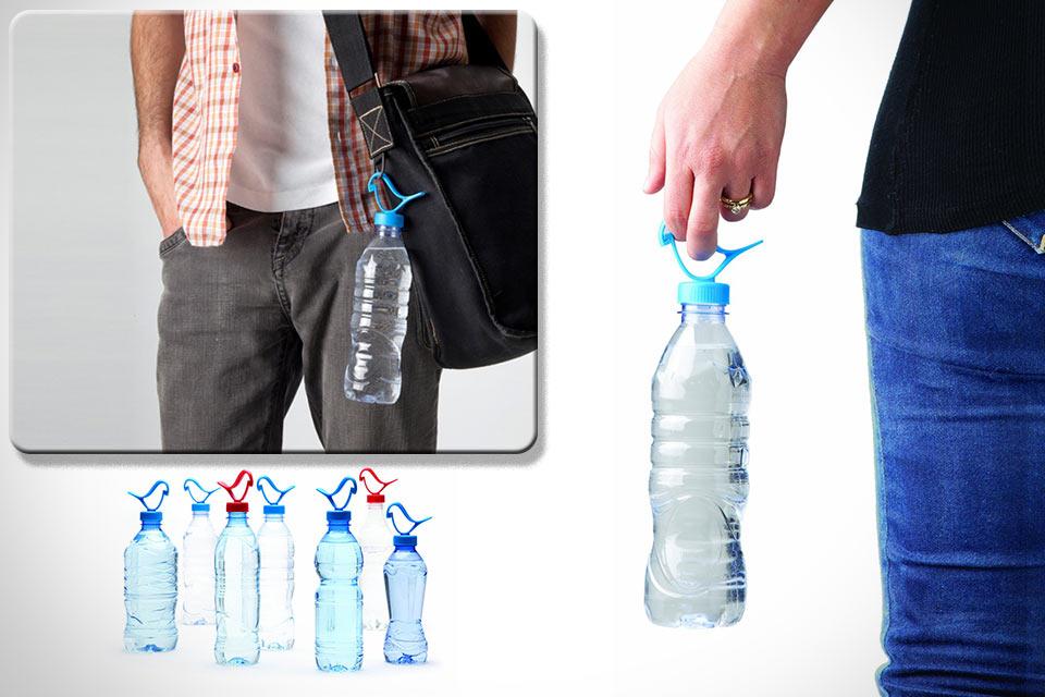 Крышка с защелкой Luckies of London Bottle Clip для PET-бутылок