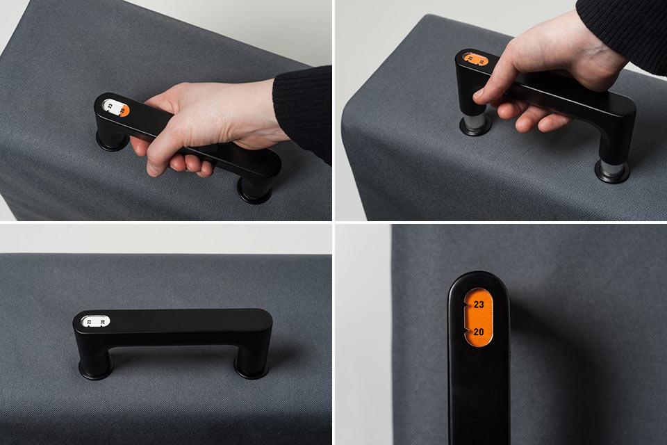 Чемоданная ручка Weighing Handle со встроенными весами