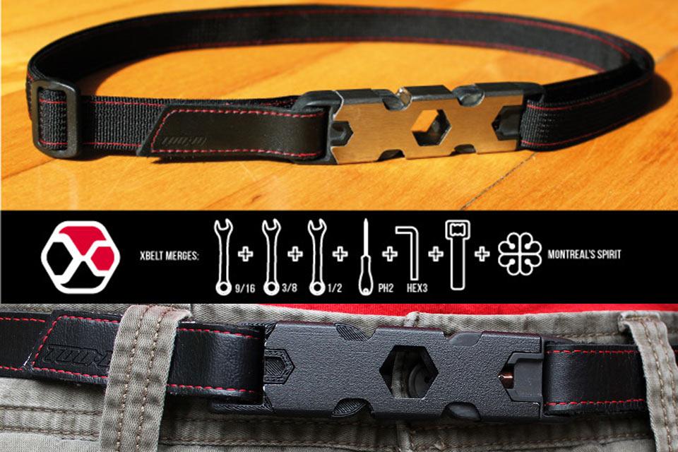 Ремень-мультитул X Belt для скейтбордиста