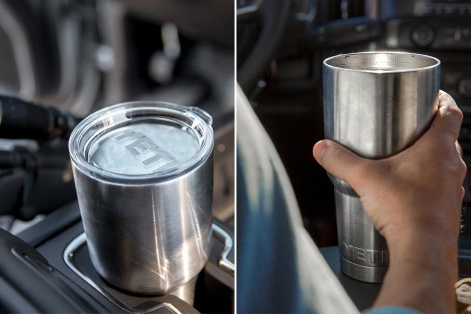 Стальной стакан Yeti Rambler с вакуумной изоляцией