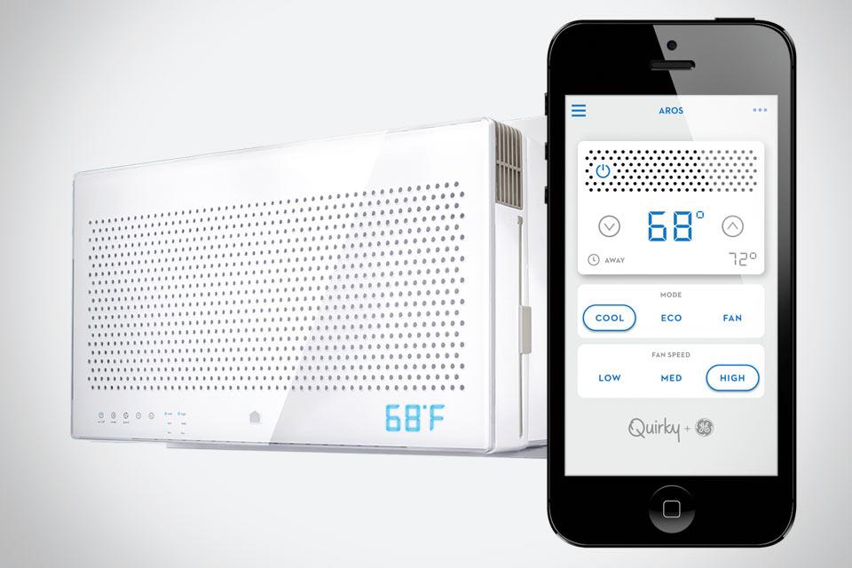Смарт-кондиционер Quirky + GE Aros с поддержкой iOS
