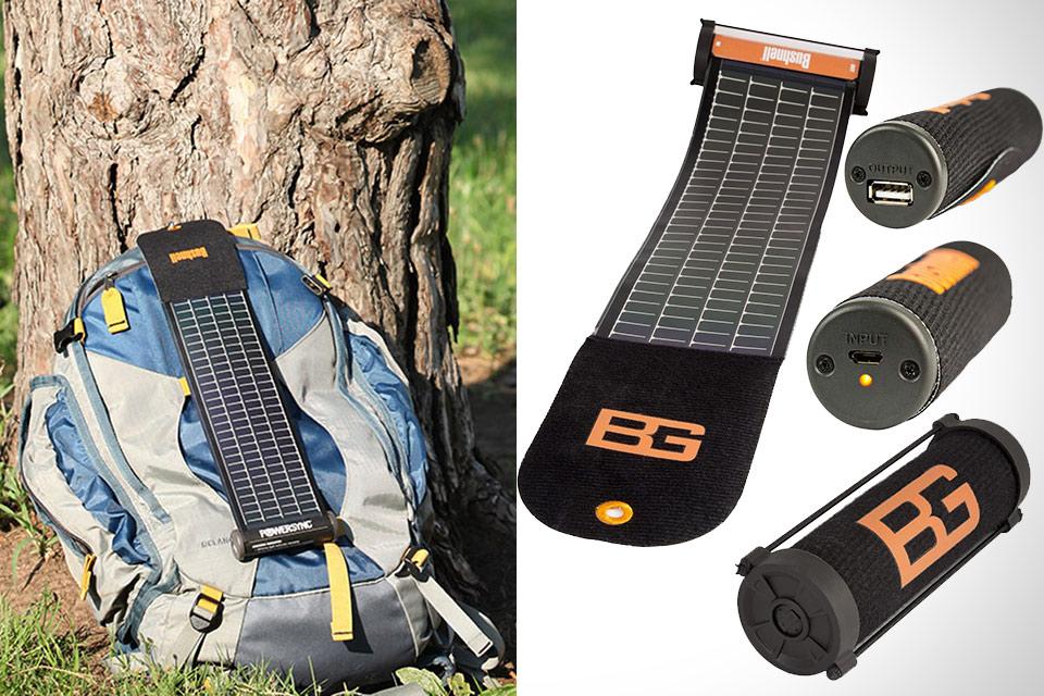 Солнечное ЗУ Bushnell SolarWrap Mini, которое сворачивается в трубочку