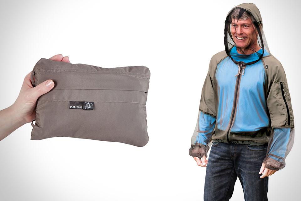 Куртка Hooded Zip Up Mosquito Jacket с защитой от комаров