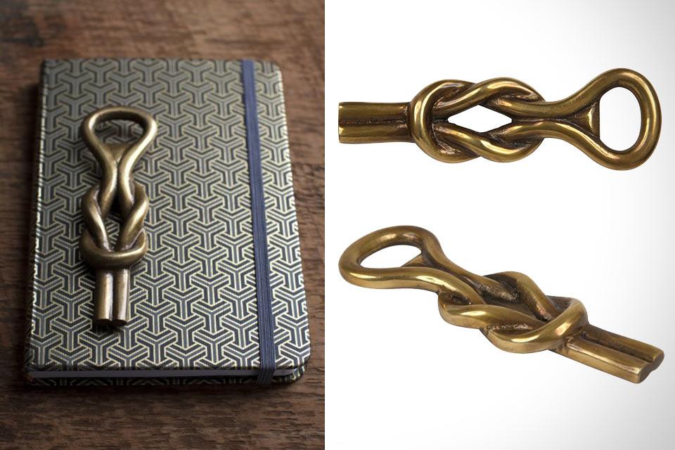 Открывашка Knot Bottle Opener в форме узла