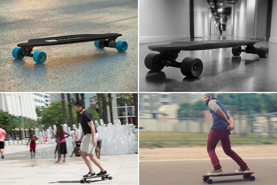 Самый легкий и компактный электроскейт в мире Marbel