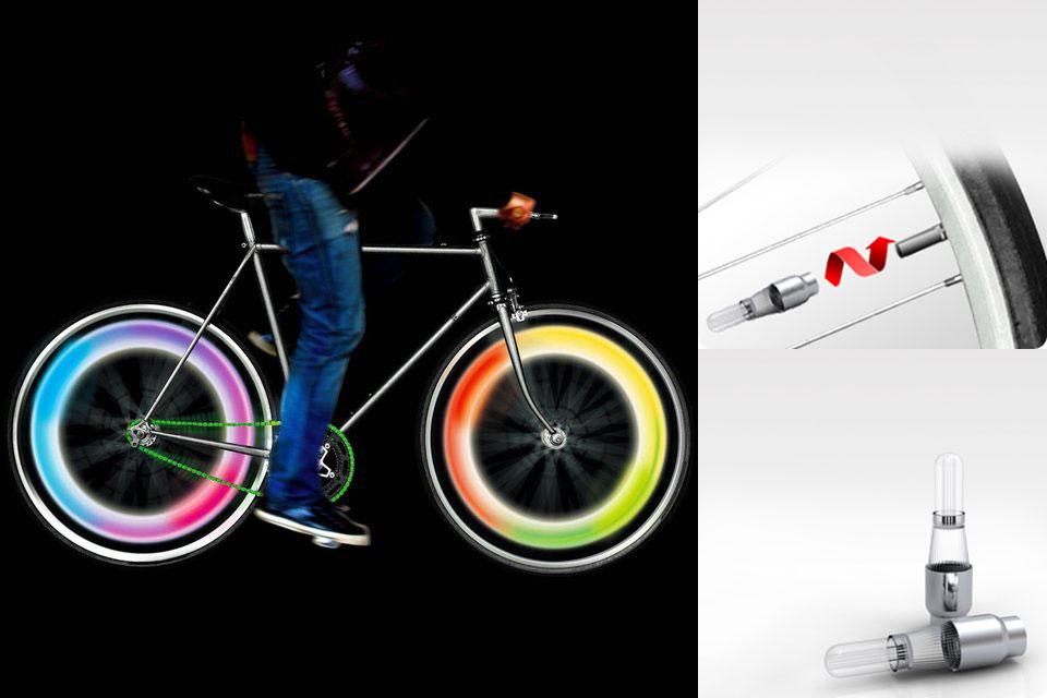 Подсветка для велосипедных колес Mathmos Bike Wheel Lights