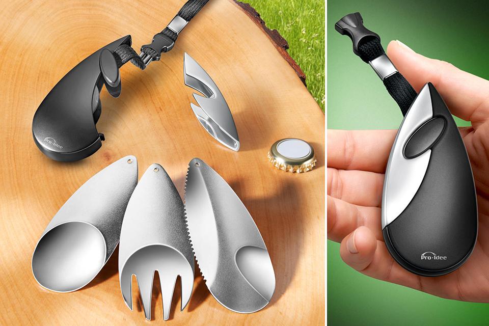 Карманный набор для пикника Picnic Cutlery