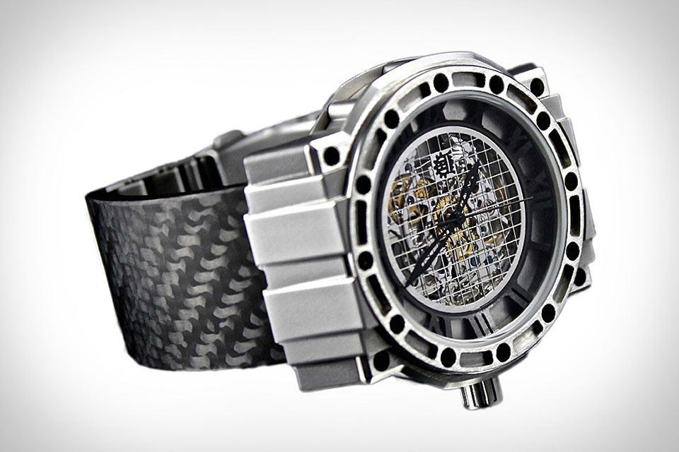 Наручные часы Refined Hardware Atlas из стали и кованного карбона