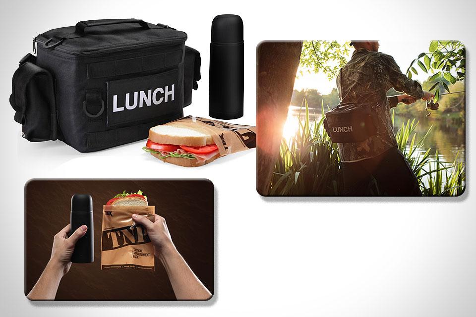 Тактическая сумка для ланча Tactical Lunch Kit